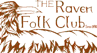 Thanks to Kate Parsons for the new Raven Folk Club logo.